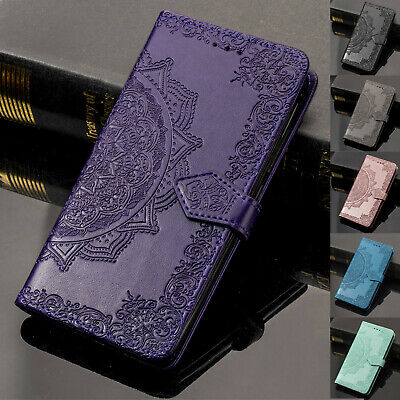 For Samsung Galaxy S10 +/Note 9/S9/S8 Wallet Retro Leather Flip Stand Case Cover