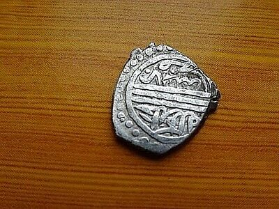 """WOW"" Authentic Ottoman Silver Coin Akce, Akche 834 AH Murad II 1421-1444 AD."
