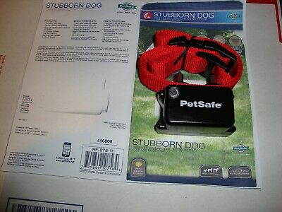 PetSafe Stubborn Dog In-Ground Fence Receiver Collar RF-275-11 NEW 2019 MODEL