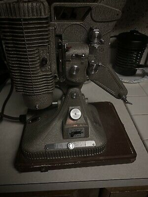 VINTAGE KEYSTONE REGAL K 109 8MM MOVIE PROJECTOR with Cord - WORKS!
