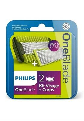 Oneblade Philips QP620/50 kit visage + corps  neuf Pack 2 lames
