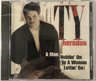 TY HERNDON - Man Holdin On / Just Enough To Get To Memphis CD Single NEW SEALED