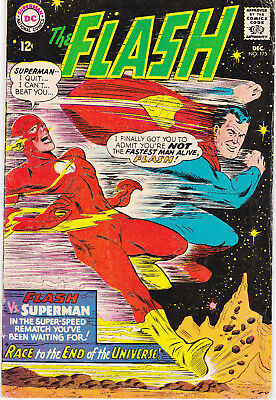 FLASH 175 - 2nd SUPERMAN FLASH RACE (SILVER AGE 1967) - 6.5
