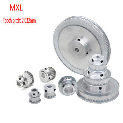 MXL16-160T Pitch 2.032mm Timing Belt Pulley With Step For 6/10mm Width Belt
