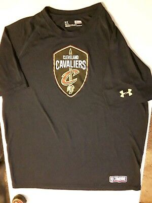 newest 0c109 085ea UNDER ARMOUR CLEVELAND Cavaliers Large Shirt Cavs Tee