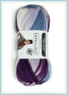 Loops & Threads Impeccable Yarn, Purple Impression