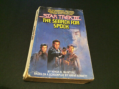 Star Trek Iii The Search For Spock Novel Film Tie-In 1984 Australian Press