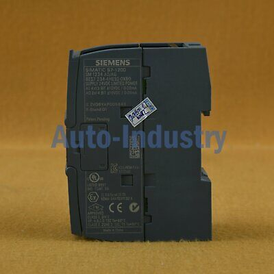 Used Siemens SIMATIC S7-1200 SM1234 Analog Cur/Volt Combo 6ES7 234-4HE32-0XB0