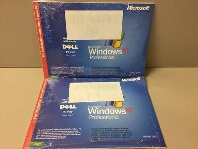 Lot Of 2 - Windows XP Professional CD for Dell PC Only 0801
