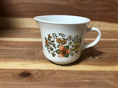 "Corelle by Corning ""Indian Summer"" 6oz creamer pre-owned"