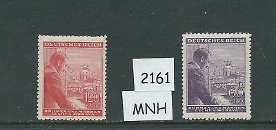 Complete MNH stamp set / Adolph Hitler Birthday April 1943 / WWII / Third Reich