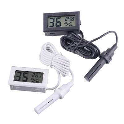 Digital Hygrometer Humidity Meter & Thermometer Sensor Fit for Incubator Poultry