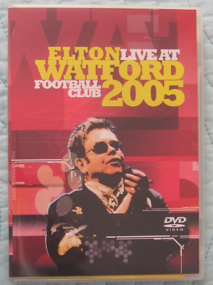 Elton John Elton Live At Watford Football Club 2005 DVD Rare Hard To Find