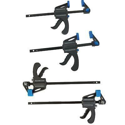 Mini quick Clamps 2 Pack 100 or 150mm woodwork clamping G one handed