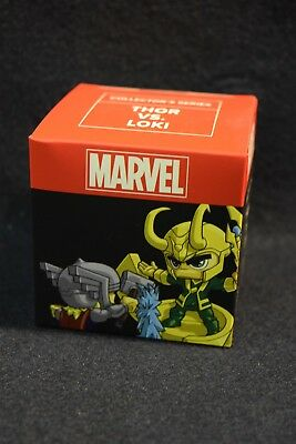 Thor vs Loki Marvel Collector's Series Figure Loot Crate Exclusive! NEW SEALED