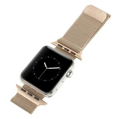 Correa Pulsera Brazalete Acero Inoxidable Apple Watch Series 3 38Mm Oro Rosa