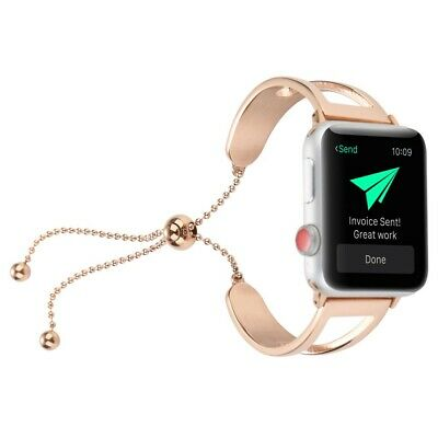 Correa Pulsera Brazalete Acero Inoxidable Apple Watch Series 4 40Mm Oro Rosa