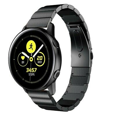 Correa Pulsera Brazalete Acero Inoxidable Samsung Galaxy Watch Active Negro