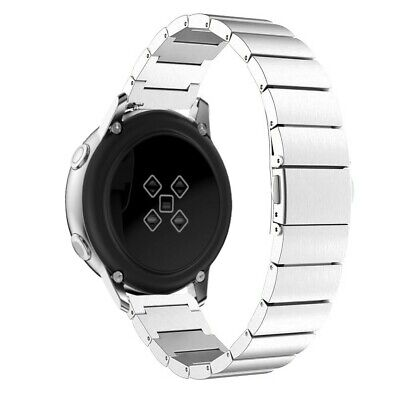 Correa Pulsera Brazalete Acero Inoxidable Samsung Galaxy Watch Active Plata