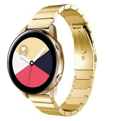 Correa Pulsera Brazalete Acero Inoxidable Samsung Galaxy Watch Active Oro