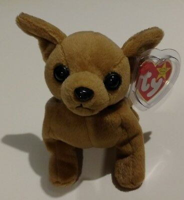 b31636e74a7 TINY THE CHIHUAHUA - Ty Beanie Baby - With Hangtag - 1998 -  10.95 ...