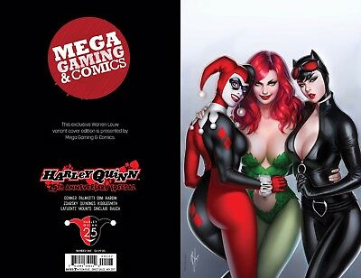Harley Quinn 25th Anniversary #1 CLASSIC VIRGIN warren Louw MEGA GAMING & COMICS