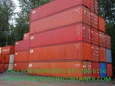 40' High Cube Cargo Container / Shipping Container / Storage Unit in Seattle, WA