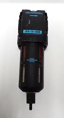 "Wilkerson Pneumatic Filter, M18-04-Bk00, 1/2"" Npt Connection, 0.5 Micron"