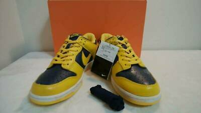 outlet store 895c3 7b5d7 NIKE DUNK LOW VNTG Varsity Maize Midnight Navy Vintage Sneakers size US 90