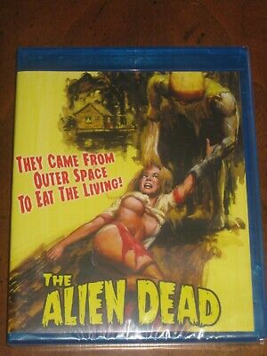THE ALIEN DEAD Special Fred Olen Ray Signed Edition (1980) (Blu-Ray) BRAND NEW!!