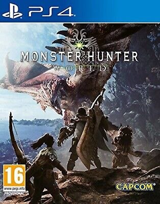 PS4 Monster Hunter World Nuevo Precintado Pal España
