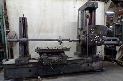 COLLET & ENGELHARD TABLE TYPE BORING & MILLING MACHINE, BFf85, 380 VOLT