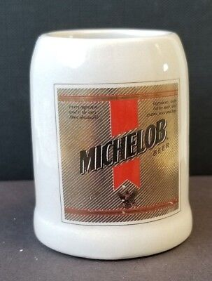 """Miniature """"Michelob""""  Beer Stein/Mug Collectable Perfect  Short Shot"""