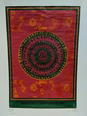 Quicksilver Messenger Service Original 1967 'FD 53-1 Family Dog' Concert Poster
