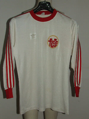 Soccer Jersey Trikot Maillot Camiseta Sport Sion Long Sleeve 70'S Size M