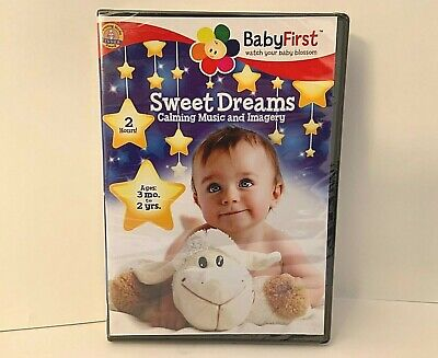 NEW BabyFirst: Sweet Dreams - Calming Music  Imagery (DVD, 2013)