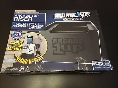 ~NEW!~ ARCADE1UP RISER Brand New - Factory Sealed - Arcade 1Up Cabinet  Walmart