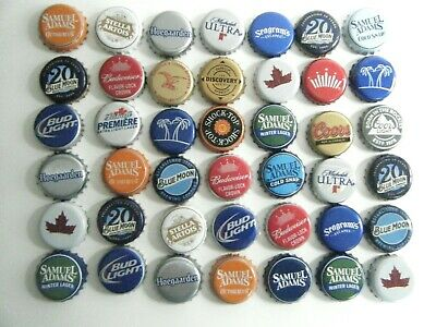 Lot Of 400 Used Washed Bottle Caps Domestic & Imported Brands
