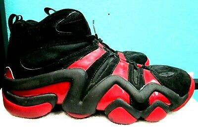 quality design b8c8c eb80c ADIDAS EQUIPMENT 11 1/2 red black non harking torsion system 8 shoes  sneakers!!!