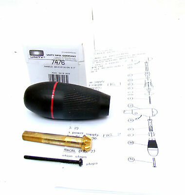 Unity 7476 Spotlight Replacement Grip P71 Crown Vic/Tahoe/Charger/Interceptor