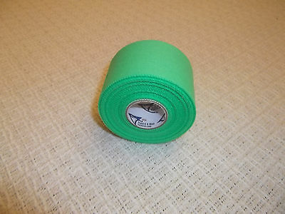 "BRIGHT GREEN MEDICAL TAPE   24 rolls   1.5""x15yds.   * FIRST QUALITY *"