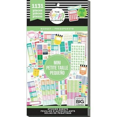 The Happy Planner Sticker Value Pack - Budget 1131 stickers in this pack!
