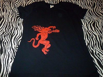 Fireball Whisky Women's Shirt ( Used Size L ) Nice Condition!!!