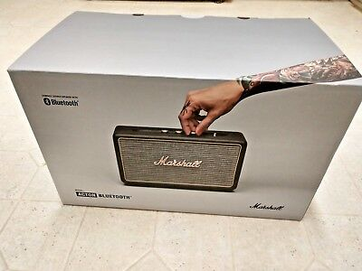 Marshall Acton Bluetooth 50W Wireless Bluetooth Speaker - Black