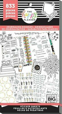The Happy Planner Sticker Value Pack - Doodles 833 stickers in this pack!