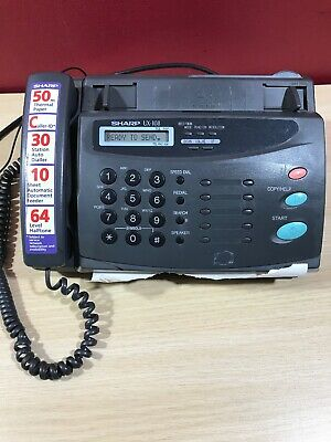 Sharp Fax Machine UX-108 Perfect Conditions