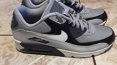 MEN'S NIKE AIR Max 90 Essential Size 13 Wolf Grey Black