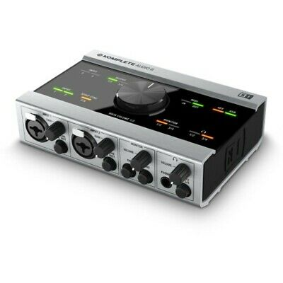 New NATIVE INSTRUMENTS KOMPLETE AUDIO 6 Musical instrument from JAPAN w/Tracking