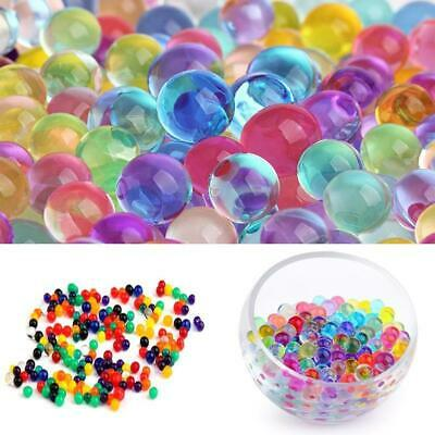 10000Pcs Colorful Crystal Mud Soil Water Beads Jelly Gel Ball Flower Plant Decor