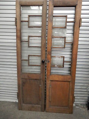 DOUBLE DOORS - ANTIQUE TIMBER DOORS FROM HUNGARY 200 years old, St1